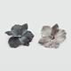 FULL TILT Stone Center Flower Hair Clips