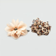 FULL TILT Stone Center Flower Hair Clips