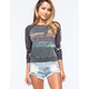 BILLABONG Falling Back Womens Raglan Sweatshirt