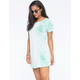 FULL TILT Tie Dye Shirt Dress