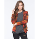VOLCOM Desert Coast Womens Flannel Shirt