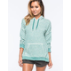 VOLCOM Lived In Fleece Womens Pullover Hoodie