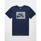 NIKE SB Herringbone Block Mens T-Shirt