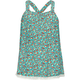 FULL TILT Crochet Trim Floral Print Girls Tank