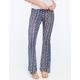 FULL TILT Paisley Print Womens Flare Pants