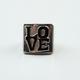 FULL TILT Love Block Ring