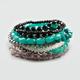 FULL TILT 9 Piece Beaded Bracelets