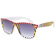 BLUE CROWN Ombre Stripe Classic Sunglasses