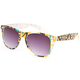 BLUE CROWN Bright Tribal Sunglasses