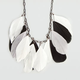 FULL TILT Feather Statement Necklace