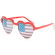 FULL TILT USA Heart Sunglasses