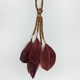 FULL TILT Feather Dangle Necklace