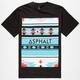 AYC Tribez Chest Block Mens T-Shirt
