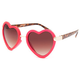 FULL TILT Trendy Heart Sunglasses