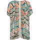 FULL TILT Boho Print Crochet Back Girls Kimono