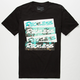 YOUNG & RECKLESS Palm Block Mens T-Shirt