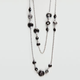 FULL TILT Double Layer Fireball Necklace