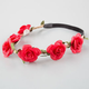FULL TILT Delicate Flower Crown Headband