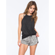 RVCA Just Got Home Womens Pull On Shorts