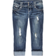 ALMOST FAMOUS Womens Denim Capris