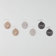 FULL TILT 3 Pairs Boho Disc Earrings