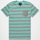 SHOUTHOUSE Lee Mens Pocket Tee