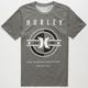 HURLEY Dartboard Mens Dri-Fit T-Shirt