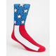 VANS Flag Mens Crew Socks