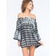 ELAN Flutter Sleeve Dress