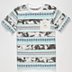 LIRA Tropical Aztec Boys Pocket Tee