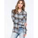 RVCA Jig Womens Flannel Shirt