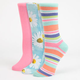 3 Pack Daisies Womens Socks