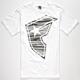 FAMOUS STARS & STRAPS Stick Grave BOH Mens T-Shirt