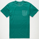BILLABONG Transitional Stripe Mens Pocket Tee