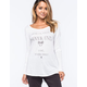 HURLEY Dear Vacation Braid Womens Tee