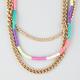 FULL TILT Wrap Layered Necklace