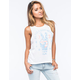 BILLABONG Peace Womens Muscle Ringer Tank