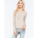 OTHERS FOLLOW Lottie Knit Womens Top