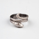 KR3W Coiled Snake Ring