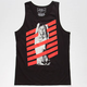 RIOT SOCIETY Stripes Mens Tank