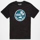 VANS Dual Palm Logo Mens T-Shirt