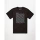 VANS Glitch Check Mens T-Shirt