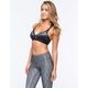 FULL TILT SPORT Criss Cross Cutout Sports Bra