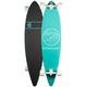 GOLDCOAST Classic Turquoise Pintail Longboard