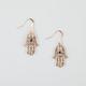 FULL TILT Hamsa Earrings