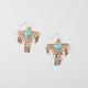 FULL TILT Fringe Thunderbird Earrings
