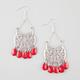 FULL TILT Crescent Chandelier Earrings