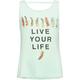 FULL TILT Live Your Life Feather Girls Tank