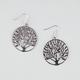 FULL TILT Tree Cutout Disc Earrings