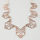 FULL TILT Tribal Cutout Statement Necklace